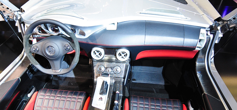 Mercedes Slr Stirling Moss Interior